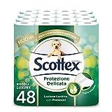 Scottex Carta Igienica Protezione Delicata, Confezione Da 48 Rotoli - 4440 Gr