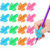 16 Pack Pencil Grips for Kids Handwriting, Pencil Holder for Kids, Handwriting Grip, Ergonomic Training Pencil Grips, Writing Tool for Toddlers, Preschoolers, Children