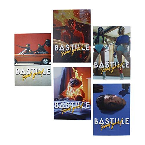 Bastille - Goede verdriet ansichtkaart Set
