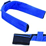Impresa CPAP Neck Pad Cushions - Universal Headgear/Mask Head Strap Covers - Compatible with Resmed Airfit P10 / F20, Airtouch, Dreamwear and Many More Models - Reduces Face and Neck Irritation
