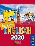 Sprachkal. Englisch für Kids 2020: Tages-Abreisskalender für Kinder zum Lernen der englischen Sprache I Aufstellbar I 12 x 16 cm