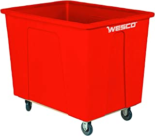 Wesco Industrial Products 272516 96 Gallon 12 Bushels Plastic Box Truck, 5