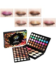 Eyeshadow Palette Makeup Kit,95 Colors Glitter Make-Up Powder Eye Color Palette,80 Eye shadow + 15 Blush Concealer - Professional Eye Colour Grooming Palette