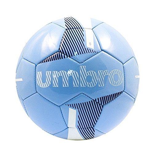 Umbro Veloce Supporter Ball–Pallone da Calcio, Taglia 5, Bambino, Veloce Supporter Ball, Sky Azul/Blanco/Dark Navy, 5