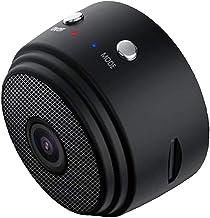 KESOTO A9 1080P Full HD Mini IP Camera DVR Recorder Motion Detection Loop Recording, 150°Wide-Angle - Black, 43 x 35 x25mm