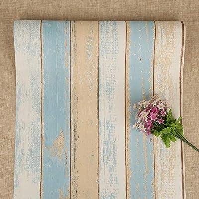 Papel pintado autoadhesivo: fácil de aplicar rápidamente en una superficie lisa, tiene una rejilla en el papel de respaldo para un corte fácil, solo pele y pegue el papel de pared para renovar su pared o muebles. tamaño: 45 * 500 cm, peso 0.42 kg. Pa...