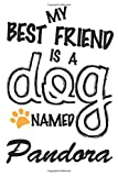 My Best Friend Is A Dog Named Pandora: Best and Great Gift for Dogs Lovers Owners | Funny Dog Lover Gift Journal Notebook | Perfect For Someone Who Owns a Cute Dog Named Pandora