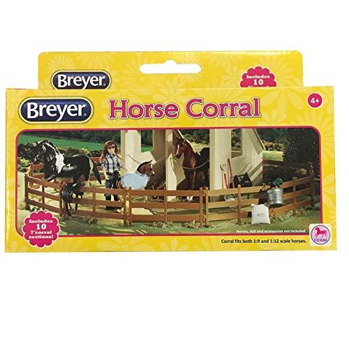 netproshop Breyer Classics Pferde Koppel 10 Zaunteile