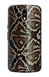 Innovedesire Anaconda Amazon Snake Skin Graphic Printed Funda Carcasa Case para Motorola Moto G4, G4 Plus