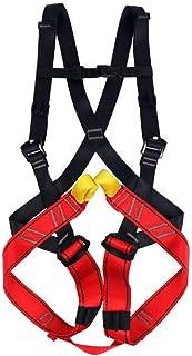 HPDOE Arnes Escalada Un arnés de Cuerpo Completo para Juegos Infantiles y Aventuras de montaña para niños de 3 a 14 años.