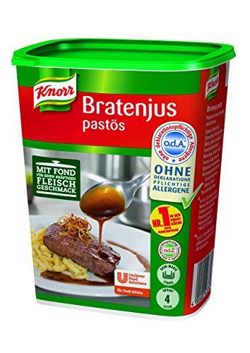 Knorr Bratenjus pastös (vielseitig anwendbar für Bratensaft, Bratensoße (gravy) und braune Soße), 400 g