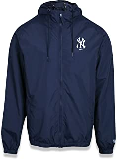 JAQUETA WINDBREAKER NEW YORK YANKEES MLB PRETO VERMELHO VERDE MARINHO NEW ERA