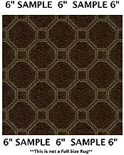 Koeckritz Rugs Sample Swatch - Woodridge, Milliken Carpet - Delicate Frame Pattern | Designers Dream Collection