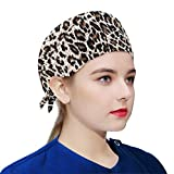RCL Cotton Working Cap Adjustable Hats Tie Back for Women
