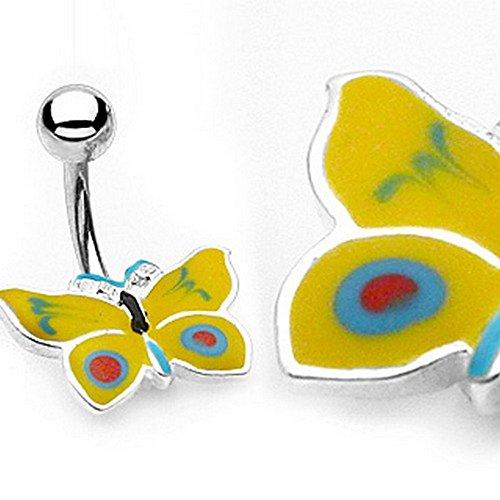 Piercing Nombril diseño de la abeja MAYA