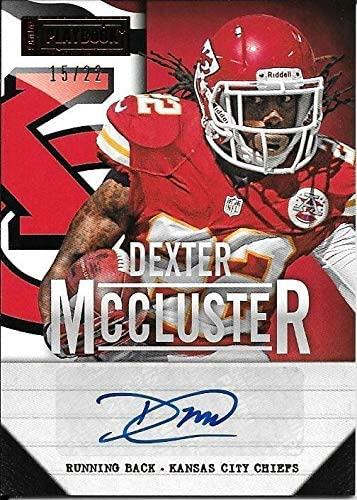 2013 Panini Luxury Playbook #32 Dexter 22 #15 Autograph At the price of surprise McCluster