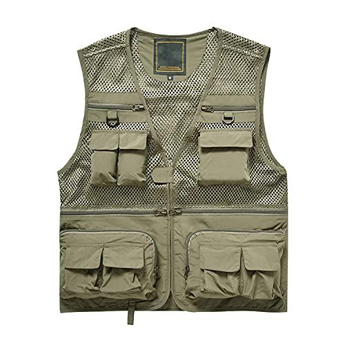 Naudamp Men's Outdoor Fishing Vest Quick Dry Lightweight Breathable...