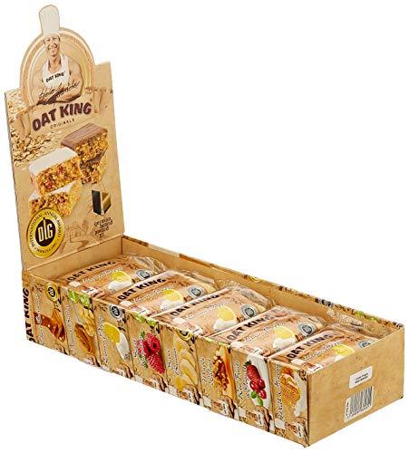 Lsp Oat King Energy Bar Lemon Poppy, 10 x 95 g