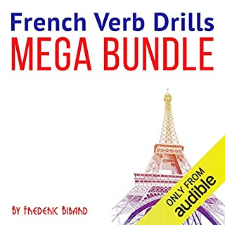 French Verb Drills Mega Bundle cover art