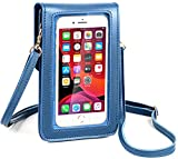 Cell Phone Purse for Teen Girls Crossbody with Touchscreen Window Shoulder Bag RFID Card Slot