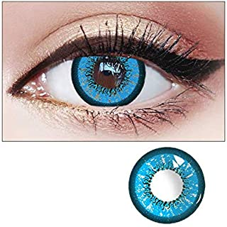New Contact Lenses Eyes Color Lady Cosmetic Eye Makeup Soft Eyes Cosmetic Lens with Case