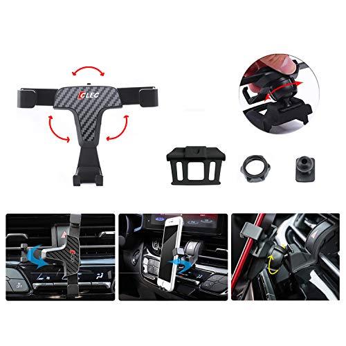 LFOTPP Auto Handy Halterung für Qashqai J11, 360° Drehbar Handyhalter, Carbon Fiber Gravity Phone Holder