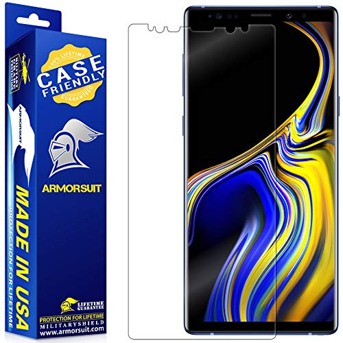 ArmorSuit MilitaryShield [Case Friendly] Screen Protector For Samsung Galaxy Note 9 - Anti-Bubble HD Clear Film
