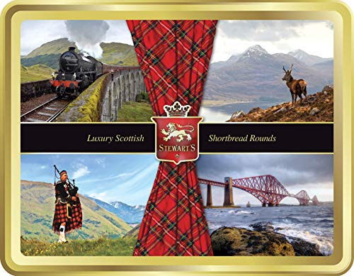 Stewart lusso Shortbread scozzese - collezione scozzese 400g