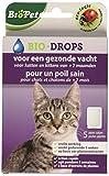 BSI Biopet Bio-Drops Anti-puce sans Insecticide pour Chat et chatons de +2 mois