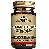Solgar | Neuro Nutrientes | Combinación Única de Vitaminas Aminoácidos y Extracto de Hoja de Ginkgo Biloba | 60 Cápsulas Vegetales