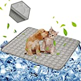 Best Cooling Pad For Dogs - aingycy Dog Cooling Mat Pet Cooling Pads Dogs Review