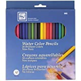 Best Watercolor Pencils - Loew Cornell 995A Watercolor Pencils, Pack of 24 Review