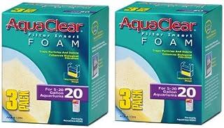 Aquaclear Foam Inserts 3-Pack (6-Pack 20-Gallon)