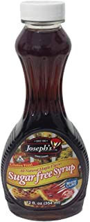 Joseph's Sugar Free Maple Syrup, 12oz - Pack of 3