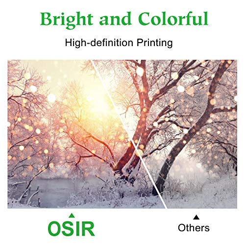 OSIR 950XL 951XL Compatible Ink Cartridge Replacement for HP 950 951 XL Combo Pack, for Officejet Pro 8600 Plus 8600 8610 8620 8630 8100 8660 8615 251dw 276dw 271dw, 5 Packs (2BK, 1C, 1M, 1Y)