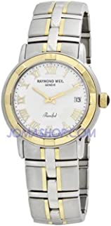Raymond Weil - 9540STG00308 9540-STG-00308 - Reloj de Pulsera para Hombre, Correa de Acero Inoxidable, Color Plateado