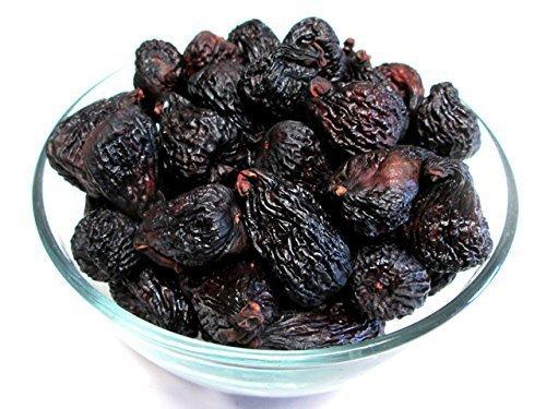 Dried Black Mission Figs,1 pound bag, US...