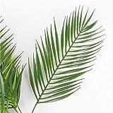 Homyl Grün Kokosnuss Palmblätter Kunstblätter Deko Künstliche Blätter - 3 - 6
