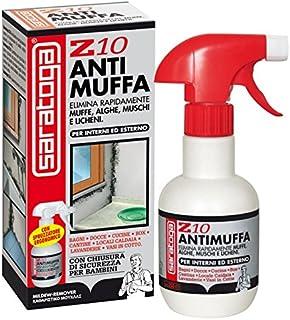 Saratoga Z10- Líquido antimoho en rociador, para todo tipo de superficies, 500ml