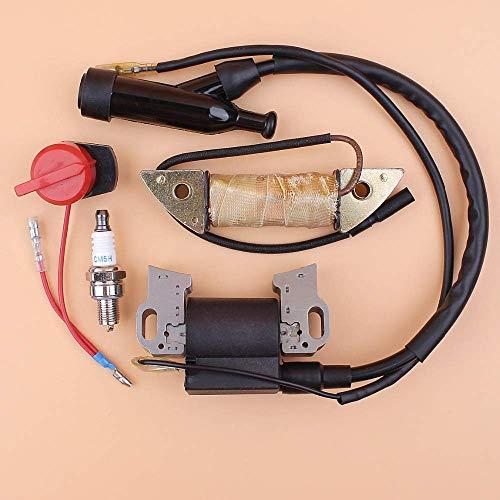 HaoYueDa Kit de Interruptor de Apagado de Bobina de Carga de Magneto de Encendido Apto para Honda GX390 GX340 GX270 GX240 E6500 E7500 8-13HP generador de Bomba de Agua