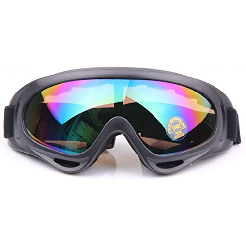 d97b692fe2 Manfâ UV Protection Windproof Dustproof Outdoor Sports Ski Glasses CS Army  Tactical Military Airsoft Goggles Snowmobile