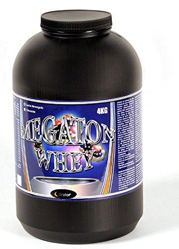 Megaton Whey 4kg. proteinas, Sabor Leche merengada
