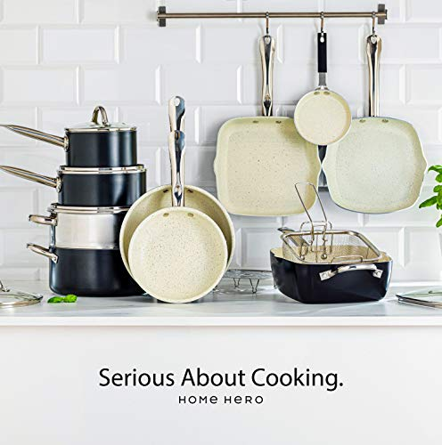 Kitchen Pots and Pans Set - 23pc Kitchen Cookware Sets Induction Pots and Pans for Cooking Set Induction Cookware with Frying Pans Nonstick Pan Set Pot and Pan Set Pot Set Non Sticking Pan Set Kitchen