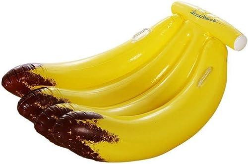 ZXCVBW 155  110  20 cm Riesen Aufblasbare Bananen Pool Float Aufsitz Obst Schwimmring Für Erwachsene Kinder Wasser Spielzeug Strandliege Matratze 2019