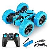 Yuwei Smart Ferngesteuertes Auto,360° Rotation Stunts 4WD RC Auto,2.4ghz Fernbedienung Wiederaufladbarer Hochgeschwindigkeits-Offroad-Rennwagen,Spielzeuggeschenk FüR Kinder Von 6 Bis 14 Jahren(Blau)