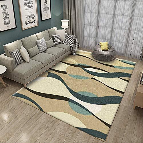 Alfombra Bebe Alfombras para El Salon Sala de Estar geométrica Abstracta clásica...