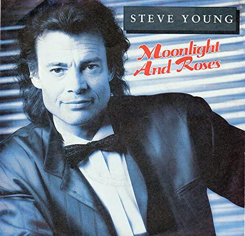 "Moonlight & Roses/Never Say Goodbye My Love(7\"" Vinyl Single)(1989)(Dino Records S 123)"