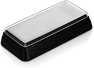Samura - Juego de afilador de cuchillos (piedra de diamante, grano 360 y 600)