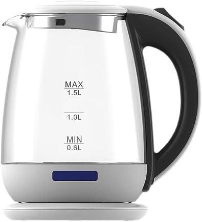 Ardes AR1 K40电水壶制成波罗硅酸盐玻璃容量1.7 L 关机自动无线基础 - 旋转 A 360 ° 细节不锈钢玫瑰金色适用于水茶茶 1,5 litri