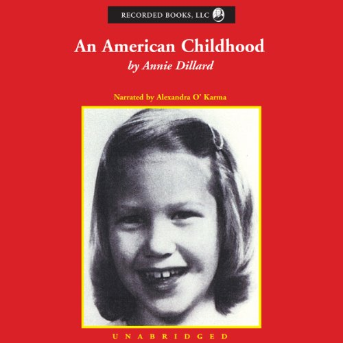 An American Childhood audiobook cover art